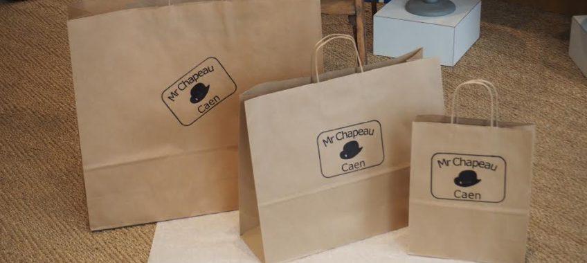 Des tampons pour sacs kraft, une riche idée !