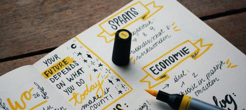 Le bullet journal, un outil sympa pour s'organiser!